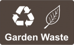 Recycling Sticker - Garden Waste